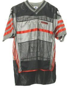 Adidas Vintage Shirt Gr. M Sport Jersey Football Trikot Bestickt Hip Hop Style