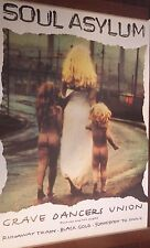 "40x60"" HUGE SUBWAY POSTER~Soul Asylum 1992 Grave Dancers Union Runaway Train NOS"