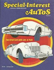 SPECIAL-INTEREST AUTOS 1976 JULY #35 - 66 OLDS TORONADO,ESSEX SPEEDABOUT,DIESEL*