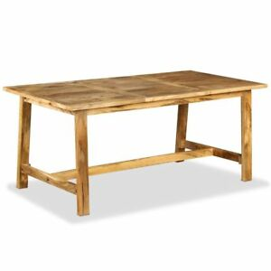 Dining Table Solid Wood Industrial Wooden Tables Handmade Kitchen Furniture Desk