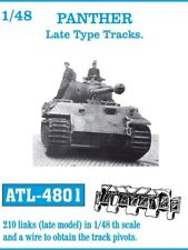 Friulmodel 1/48 WWII German Panther Late Type Metal Tracks (210 links)