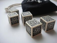 POKER DICE from THE WITCHER 2: ASSASSINS OF KINGS COLLECTOR'S EDITION - 5 dice