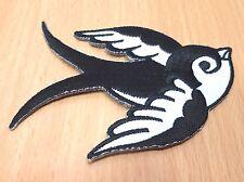 NEW BIRD SWALLOW DOVE SPARROW SYMBOL SEW IRON ON PATCH SHIRT LOGO FABRIC PO123