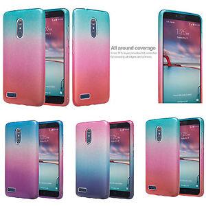 ZTE ZMAX Pro, Max XL Case, ZTE Blade Max 3 Case, Slim Glitter Shine Case Cover