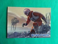 ►►rare Polish postcard picture Star Wars Battle of Howth 2 Luke Skywalker Poland