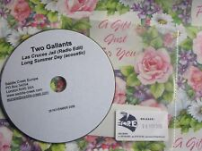 Two Gallants ‎– Las Cruces Jail Saddle Creek Europe  CD Single