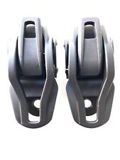 K2 Snowboard Bindings - Ankle Ratchets / Buckles x 2 in Black Replacement Parts