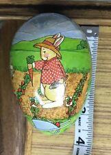 Egg Western Germany Paper Paper Mache Midwest Importer Vintage Rabbit Garden #2