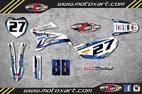 Yamaha TTR 125 / 2008 - 2015 sticker kit STORM style decals Fully Custom