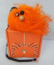 RARE Klutz 1971 Executive Games Hairy Troll Doll Fur Ball Spring Toy w Box