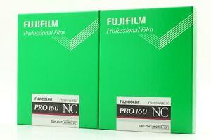 【NEW 2 Packs】 Fujifilm PRO 160 NC 4x5 Sheet Film Box 20 Sheets from Japan #324