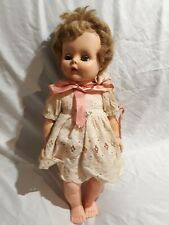 """Vintage 17"""" Sleepy Eyes Doll Collectible Toy Home Decor (No Brand/F On Its Head)"""