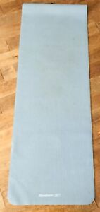 "Reebok Lightweight Grey Yoga Mat Exercise Training Workout 68"" x 24"""