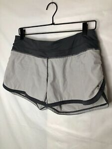 Lululemon Women's Running Athletic Shorts Zip Pocket Size 6