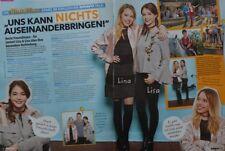LINA LARISSA STRAHL & LISA-MARIE KOROLL - 2 Seiten Bericht - Bibi & Tina Artikel