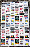 RC Drift stickers decals Tamiya HPI Losi Drift-R Kyosho set 1