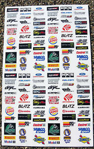 RC Drift logos set 1 stickers decals ideal to fit Tamiya Kyosho RC cars etc