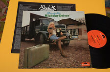 RANDY PIE LP HIGHWAY DRIVER 1°ST ORIG GERMANY 1974 EX+ ! AUDIOFILI ! LAMINATED C