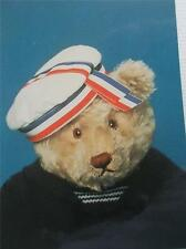 Vintage Teddy Bear Postcard Charlie in Hat Real Photo Unposted Bialosky New York