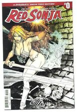 (2016) DYNAMITE RED SONJA #0 PETERSON VARIANT COVER 1 IN 50 RETAILER INCENTIVE!