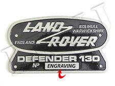 Land Rover Solihull Warwickshire Inghilterra Defender 130 Originale Stemma