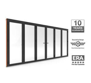 Warmcore Bi-Fold Doors 6 pane £4500