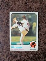 (1) 1973 TOPPS Baseball Jim Palmer #160 - Baltimore Orioles Legend