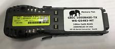 Cisco OEM 1000 BASE-T GBIC Transceiver Modules WS-G5483 RJ45