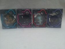 MONSTER HIGH VINYL FIGURE SET x 4 B.NEW + SEALED FREE SIGNED POSTAGE