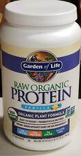 Garden of Life-Organic Vegan Raw Protein Powder-Vanilla-27 Servings-3/20 exp.