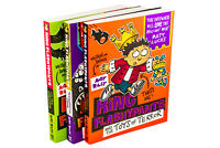 Andy Riley's King Flashypants 3 Book Collection, Evil Emperor, Creature From Cro