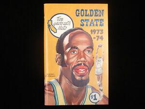 1973-74 Golden State Warriors Basketball Media Guide