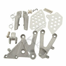 Aluminum Front Foot Peg Footrest Brackets For Honda CBR 600RR 2003-2006 04 05