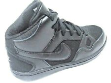 Nike Son Of Force Mid Boys Shoes Trainers Uk Size 10.5 - 2 Black 615161 021