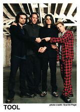 Tool - Promo Press Photo 1990's - Alternative Progressive Heavy Metal Lateralus