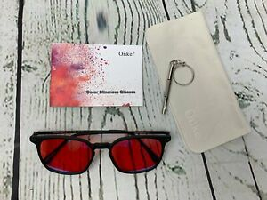 Color Blind Glasses for People with Red Blindness Color Vision Disorder