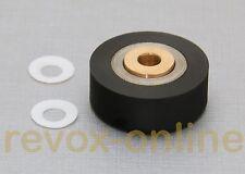 Épreuve papier rôle + 2 disques de téflon, gleitscheiben pour STUDER REVOX a77 MKIII