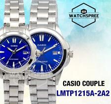 Casio Couple Watch LTP1215A-2A2 MTP1215A-2A2
