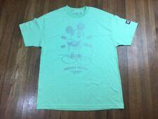 Neff  x Disney Mens Mickey Mouse Shirt Sz L Faded Design Mint OH BOY