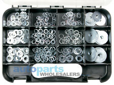 GJ WORKS ASSORTED WASHERS GRAB KIT 255 PIECES FREE AUSTRALIAN SHIPPING
