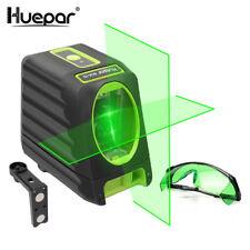 Huepar Ligne Laser de Alignement Auto Nivellement, Niveau Vert Box-1g