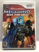 Megamind: Mega Team Unite - Nintendo Wii Kids Game - Complete & Tested Free Ship