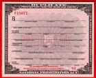 Prohibition Whiskey Prescription Old Doctor Pharmacist Nurse US Treasury History