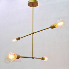West Elm Chandelier Gold Arms 4lights Contemporary Ceiling Light Pendant Lamp