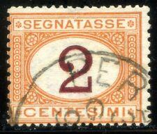 Regno d'Italia 1870 Segnatasse n. 4/I - usato - cifra in violetto scuro (m1444)