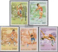 Laos 1455-1459 (kompl.Ausg.) postfrisch 1995 Olympische Sommerspiele ´96