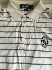 POLO GOLF 1999 US OPEN PINEHURST NO.2 EMBROIDERED CREST POLO SHIRT SIZE XL