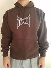 Men's Brown Tapout Hoodie different sizes available. Brand New, High Quality.