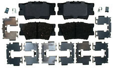 Disc Brake Pad Set-Ceramic Disc Brake Pad Rear ACDelco Pro Brakes 17D1212CH