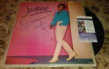 JERMAINE JACKSON MUSIC LEGEND SIGNED AUTOGRAPHED ALBUM COVER JSA COA RARE B
